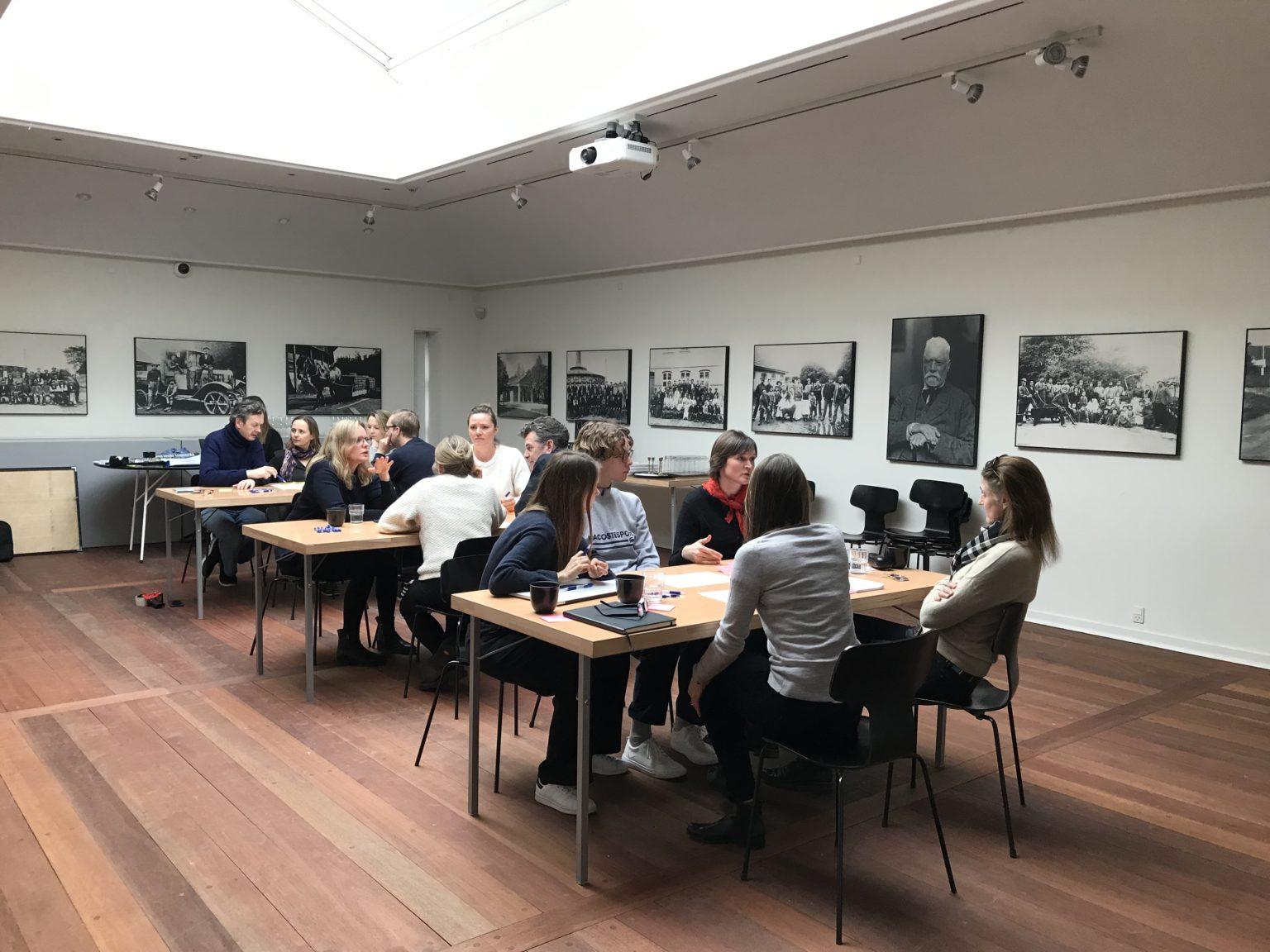 Workshop med Nivågaard Malerisamling - Udvikling af vision, mission og værdier